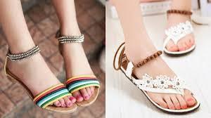 Latest Footwear Design Latest Sandals Design 2019 Ll Stylish Shoes For Girls