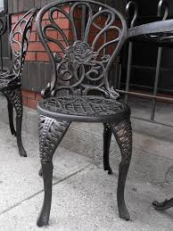 painting wrought iron furniture. White Wrought Iron Patio Furniture Painting Regarding Awesome O
