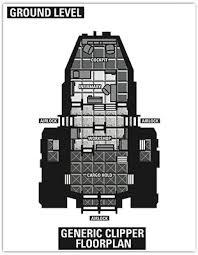 Serenity Floor Plan  FireflySpaceship Floor Plan