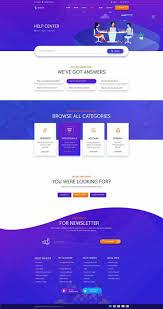 Flat Website Design Ideas Website Design Template Inspiration Modern Design Web