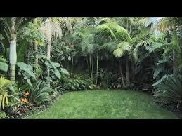 small tropical gardens around the globe