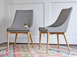 edloe finch modern dining chairs mid century dining room chairs set of 2