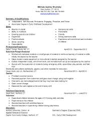 resume for child care job samples of resumes resume templates day - Resume  For Childcare