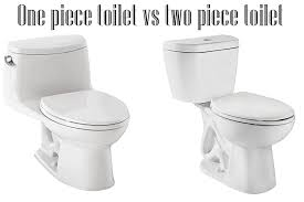 Another option that you need to consider is if you want to purchase the one  piece or the two piece toilet. The one is more expensive than the other one,  ...