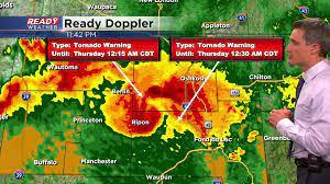 Tornado Warning issued for Jefferson ...