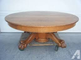 round oak claw foot table classifieds round oak claw foot table across the usa americanlisted