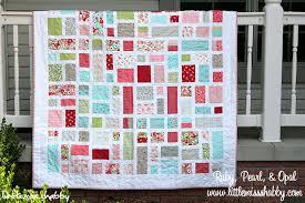 Make it Monday: Ruby, Pearl & Opal FREE Quilt Pattern &  Adamdwight.com
