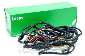 bsa wiring harnesses superb quality great price superb bsa b31 m20 m21 rigid plunger main wiring harness genuine lucas