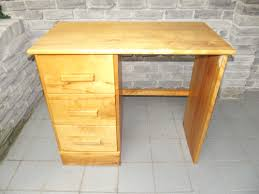 solid wood small study desk table