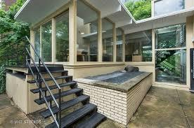 mid century modern front porch. Handsome Midcentury Modern Home In Glencoe Asks $824K Mid Century Front Porch N