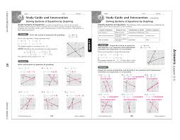 study guide and intervention writing linear equations answers section 2 4
