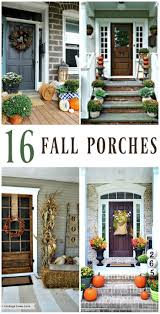 great inspiring fall front porch decorating ideas!