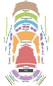Segerstrom Seating Chart Orchestra Terrace Www
