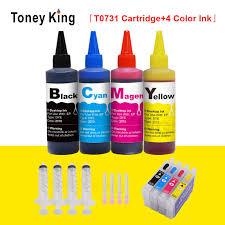 <b>Toney King 100ML</b> Printer inkt voor ciss tank Ink Refill Kit ...