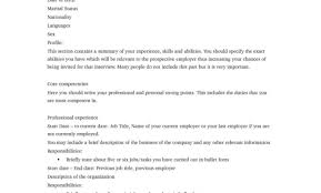 Professional Job Resume Technical Manager Resume Example Of Resume