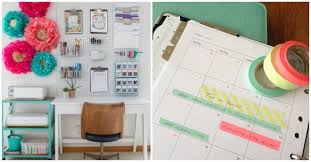 Organizing ideas for home office Wall One Crazy House 18 Insanely Awesome Home Office Organization Ideas