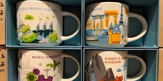 You are bound to come across just about any and every design imaginable. Starbucks You Are Here Disney Parks Mugs Are Available Online