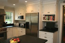 Recessed Kitchen Cabinets Kitchen Recessed Lighting Design Ideas With Soapstone Counters