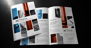 Moenia Bi Fold Brochure Template | Brochure Templates | Pixeden