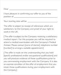 Offer Letter position offer letter - Kleo.beachfix.co