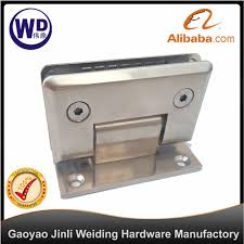 wall to glass shower hinge self centering kbl 001 wall mount