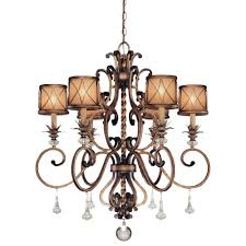 minka lavery aston court 6 light bronze chandelier