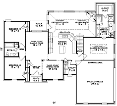 traditional home with subtle european details country house plan first floor 087d 0200 planore