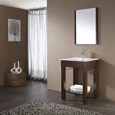 Dark bathroom vanity Dark Gray 24 Bath Kitchen And Beyond 24