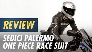 Sedici Palermo One Piece Race Suit Review At Cyclegear Com