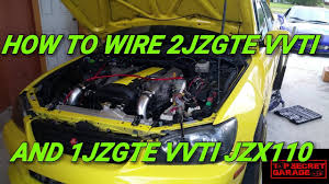 how to wire 2jzgte vvti and 1jzgte vvti jzx110 youtube  at Jzx110 1jzgtevvti Wiring Diagram