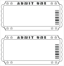 Numbered Raffle Ticket Template Lupark Co