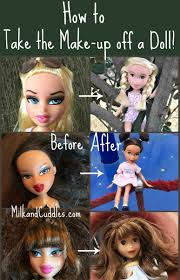 how to give a doll a make under