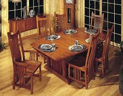 mission dining table mission style dining room furniture trestle craftsman style dining room set mission oak