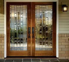 double front doors with glass modern double front doors solid wood door frame glass