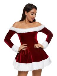 Marvelous Ann Summers Womens Sexy Miss Santa Outfit Sexy Christmas Costume Fancy Dress