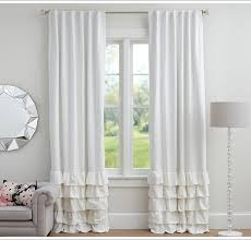 pottery barn linen blackout curtains