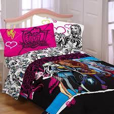Monster High Full Comforter Set Ghouls Rule Reversible Walmart Com 9 ...