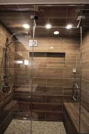 Contemporary Spa Shower with Heated Bench contemporary-bathroom