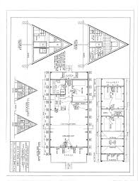 Small Picture Free A Frame Cabin Plans Blueprints Construction Documents SDS