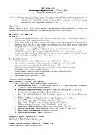 Teaching Assistant Cv Example Primary Teaching Cv Rome Fontanacountryinn Com