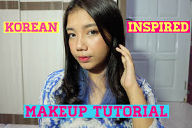 korean inspired makeup tutorial bahasa indonesia novi