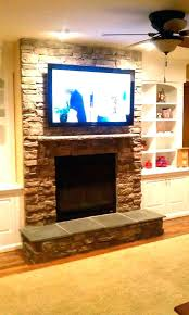 mount tv to brick fireplace mount on brick fireplace mounting