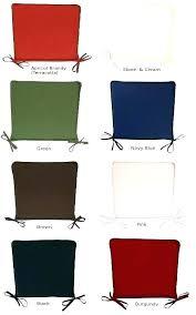 green kitchen chair pads seat cushions for regarding plan 19