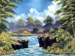 10 bob ross paintings