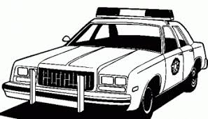 Small Picture Police car coloring pages online free
