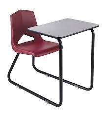 royal seating 1400 sled base combination desk with felt