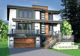 sloping house designs house plans for sloping lots sloped lot house plans walkout basement elegant sloping