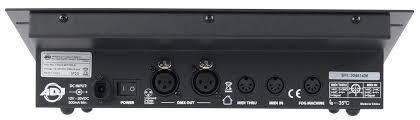 adj american dj stage setter 8 channel lighting controller