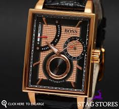 new hugo boss 1512593 mens rose gold automatic designer gents hugo boss offers elegantly designed timepieces residing at the very pinnacle of quality it says cosmopolitan urbane suave and above all