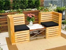 garden furniture from pallets. Garden Bench Outdoor Pallet Furniture From Pallets